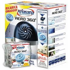 Deumidificatore Henkel Ariasana Aero 360° Kit con una ricarica da 450 gr