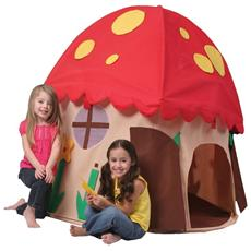 Tenda casetta mushroom house interno giocattolo gioco bimbi plastica fungo