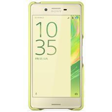 SBC22 Smart Style Cover per Xperia X verde oro