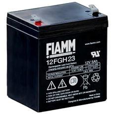 IC-12FGH23 - Batteria al Piombo 12V 5Ah (Faston 6,3mm)
