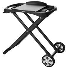 Carrello Pieghevole Per Barbecue Nero Pc / pg 10