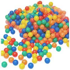 2000 Palline Colorate Ø 6 Cm Di Diametro Palline Di Plastica Gioco Per Bambini Prima Inf