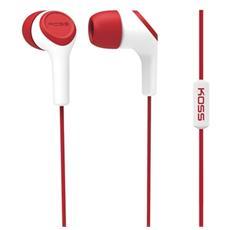 """KEB15IR, Stereofonico, Interno orecchio, Rosso, Cablato, 3.5 mm (1/8"""") , Intraurale"""
