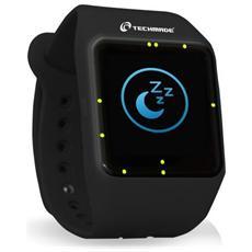 """Smartwatch TechWatchONE Display 1.54"""" Bluetooth con Conturino in Gomma Nero – Italia"""