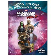 Guardians Of The Galaxy - Gioca Colora E Attacca Gli Eroi