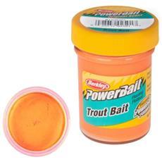 Pasta Powerbait Biodegradable Trout Bait Arancio Unica