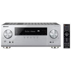 VSX-932 150W 7.1canali Surround Compatibilità 3D Argento ricevitore AV