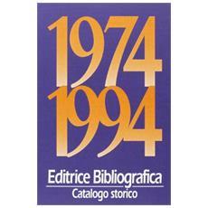 Catalogo storico 1974-1994