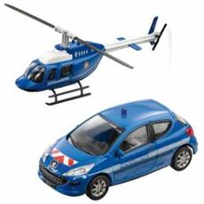 DieCast 1:43 Francia Gendarmerie Auto + Elicottero 57007