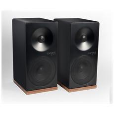 Spectrum X5 Coppia di Diffusori a 2 vie 100 Watt RCA colore Nero