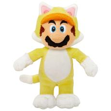 Peluche Super Mario 15 cm Mario Gatto