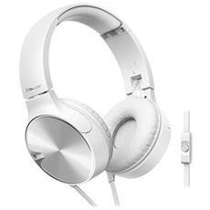 Cuffie con Microfono Cablato SE-MJ722T-W Colore Bianco