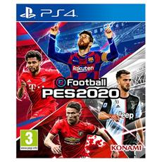 PS4 - eFootball PES 2020 (Versione Europa)
