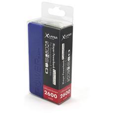 Colour Line, Polimeri di litio (LiPo) , USB, Blu, USB, Plastica, Smartphone, Tablet