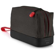 Batteria Portatile Power Pack Plus da 12000 mAh con Porta USB 2.1 A Nero e Rosso