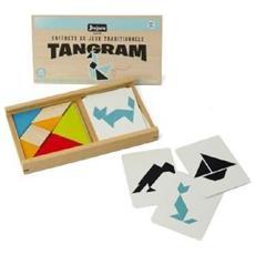 Tangram In Legno - Scatola In Legno