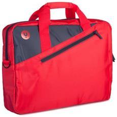 """Borsa Notebook Ginger Rosso Fino a 15.6"""" Colore Antracite / Rosso"""