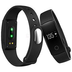 Id107hr Braccialetto Fitness Con Cardiofrequenzimetro Per Android E Ios