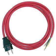 3m H07RN-F 3G1,5, Maschio, 3m, Rosso