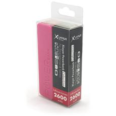 Colour Line, Polimeri di litio (LiPo) , USB, Rosa, USB, Plastica, Smartphone, Tablet