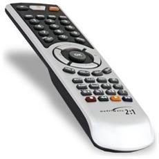 2082, IR Wireless, Nero, Argento, DVD / Blu-ray, TV, VCR, Premi i pulsanti, Alcalino