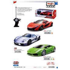 Tech - Auto Sportiva Con Radiocomando 1:14 (Assortimento)