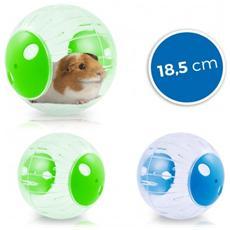 10578 Twister Ball Per Criceti E Piccoli Roditori In Plastica Rigida 18.5ã¸â¸ - Verde