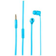 Duga Cuffie in-ear per tablet e smartphone - neon blue
