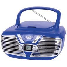 Stereo Portatile CD Cmp 562 USB Blu