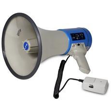Ltc Megafono 60w Con Sirena / Usb / Sd + Tracolla Mega60usb
