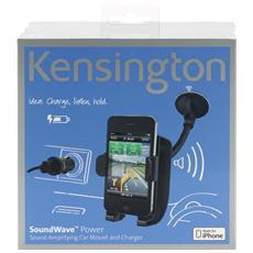 Caricabatterie e supporto di amplificazione SoundWave™ per auto