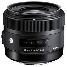 Obiettivo 30 mm F / 1.4 AF DC HSM Attacco Nikon colore Nero