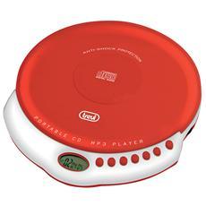 Lettore Cd Portatile Mp3 Cmp 498 Rosso