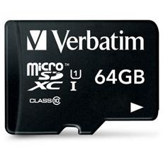 Micro SDHC 64 Gb Classe 10