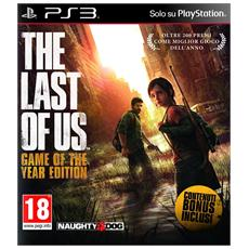 PS3 - The Last of Us - Game of the Year Edition