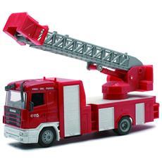 DieCast 1:43 Vigili del Fuoco Camion Scania Fire Ladder 15573I