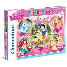 Puzzle 104 Pz - Glitter - Principesse Disney