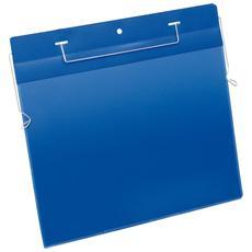 Buste Logistica Filo Metallico di Aggancio Blu