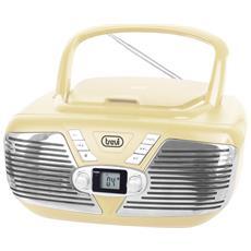 Stereo Portatile Cd Trevi Cmp 562 Usb Bianco