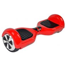 "Hoverboard Streetboard Bluetooth Ruota 8"" Colore Rosso"