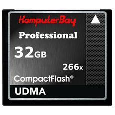 KB 32GBCF 266X, CompactFlash, Nero