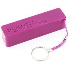 Colour Line, Polimeri di litio (LiPo) , USB, Porpora, USB, Plastica, Smartphone, Tablet