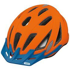 Urban-I V. 2 Monopattino Blu, Arancione casco protettivo