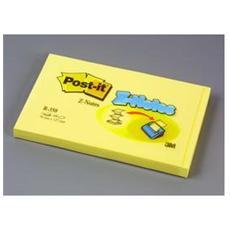confezione da 12 pezzi - blocco 100fg post-it®super sticky z-notes r350 giallo canary™ 76x127mm