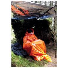 Coperta di sopravvivenza Printed Survival Bag - Orange