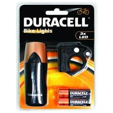 Flashlight DURACELL - 3 x LED - 2 x AA - Nero