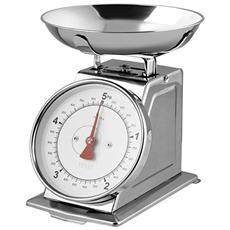 Bilancia Cucina Meccanica Inox Kg5 Strumenti Da Cucina