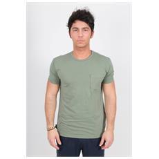 T-shirt Uomo Nantucket Taschino Verde L