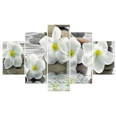 Quadro Moderno Multipannello Vogue 48x85 Flower