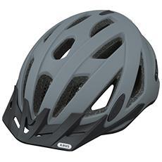 Urban-I V. 2 Monopattino Nero, Grigio casco protettivo
